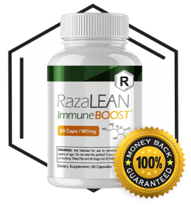 razalean immune boost review bottle