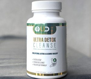ultra detox cleanse bottle